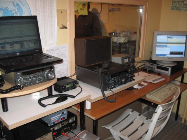 La station du RC F4KIO