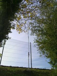 Antenne utilisée pendant la fête de la science 2015