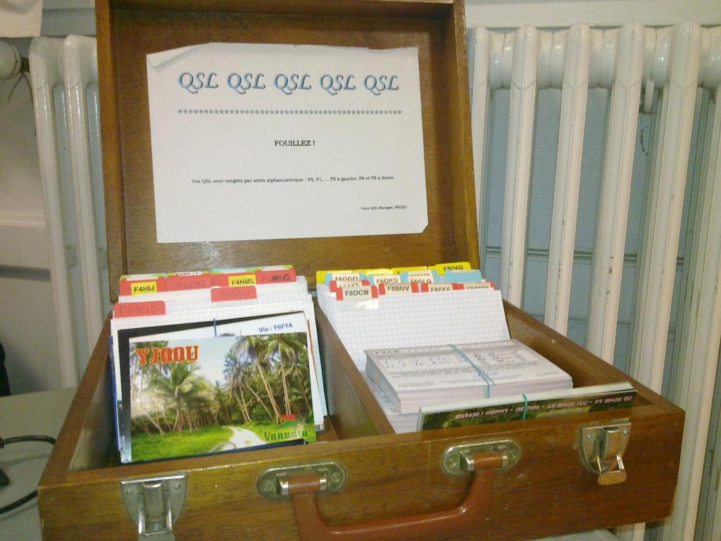 La boîte à QSL